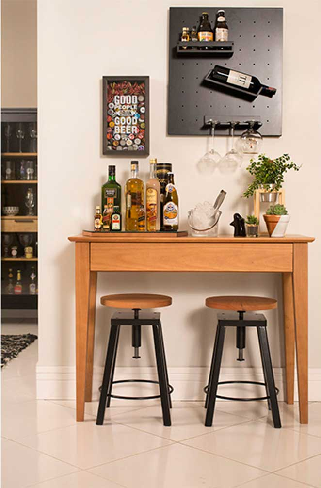 Adesivo Mesa De Jantar ~ Bar para sala