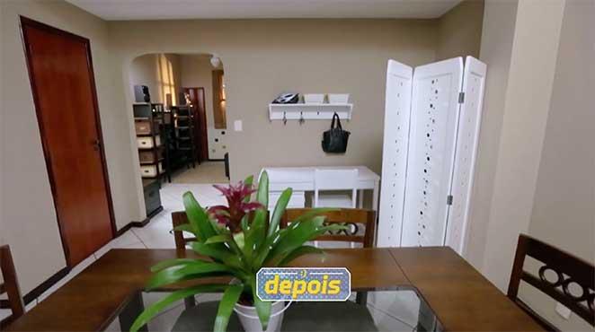 sala de jantar, estar e home office integrados