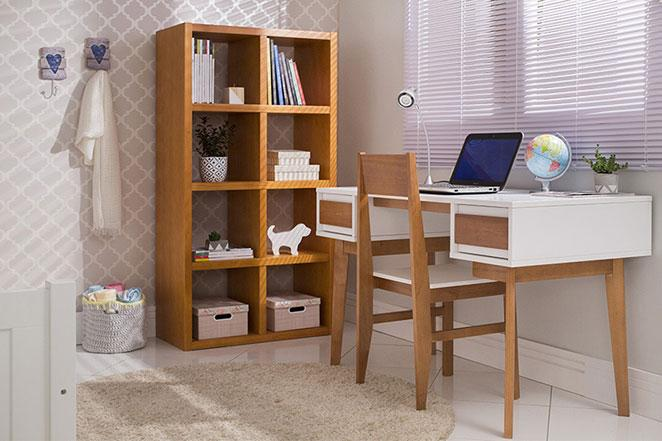 quarto de visita e home office