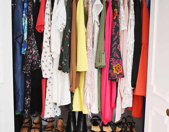 5 dicas para organizar o closet