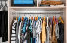 5 Dicas para organizar o closet e guarda-roupa.