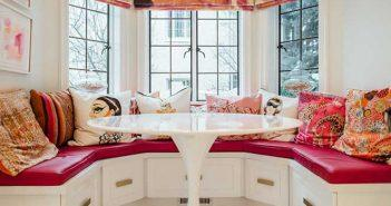 decoracao moderna e colorida