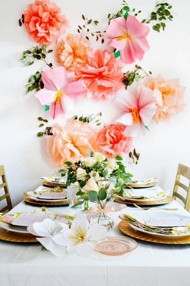 Inspiração: mesas de jantar decoradas