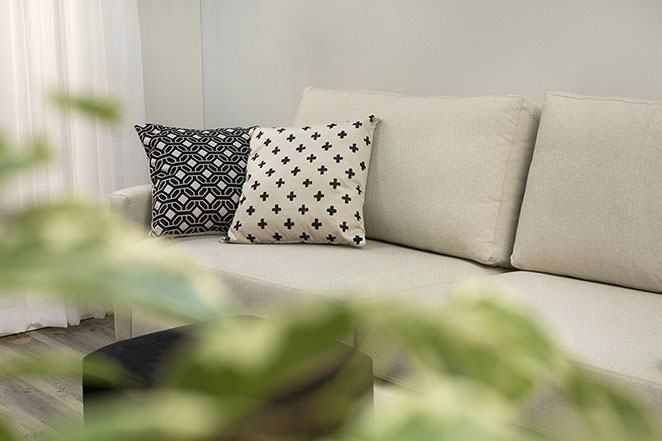 sala de estar pequena decorada
