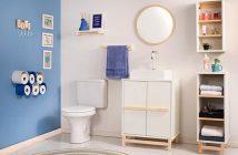 organizacao de armario de banheiro