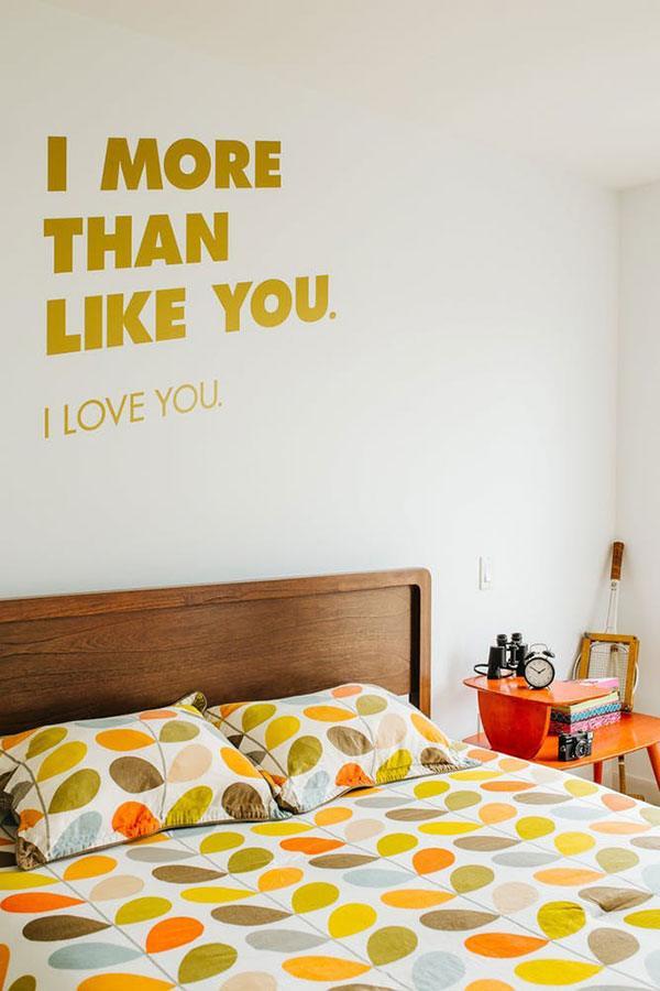 decoracao com amarelo