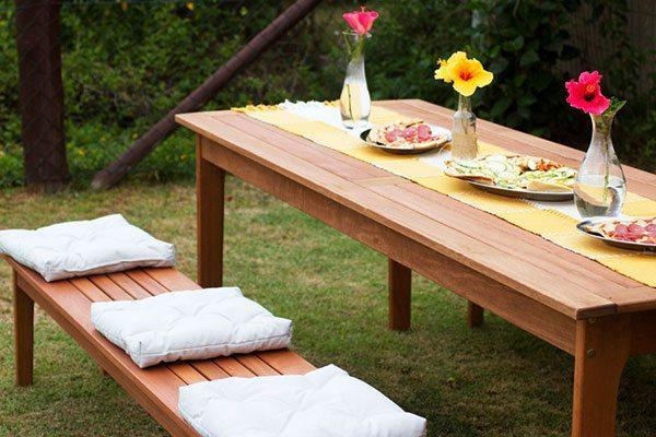 jantar na varanda