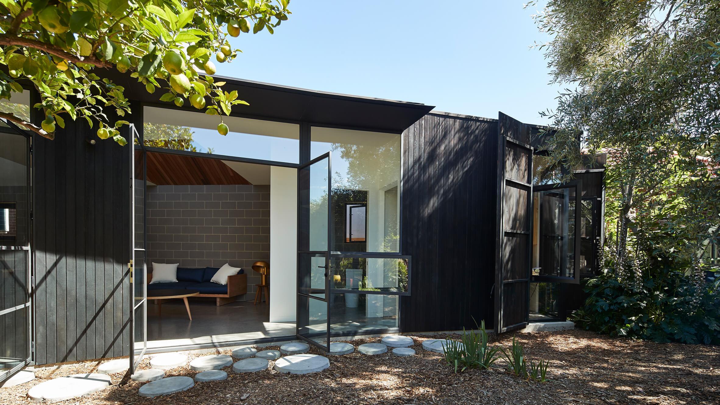 Black house em Melbourne