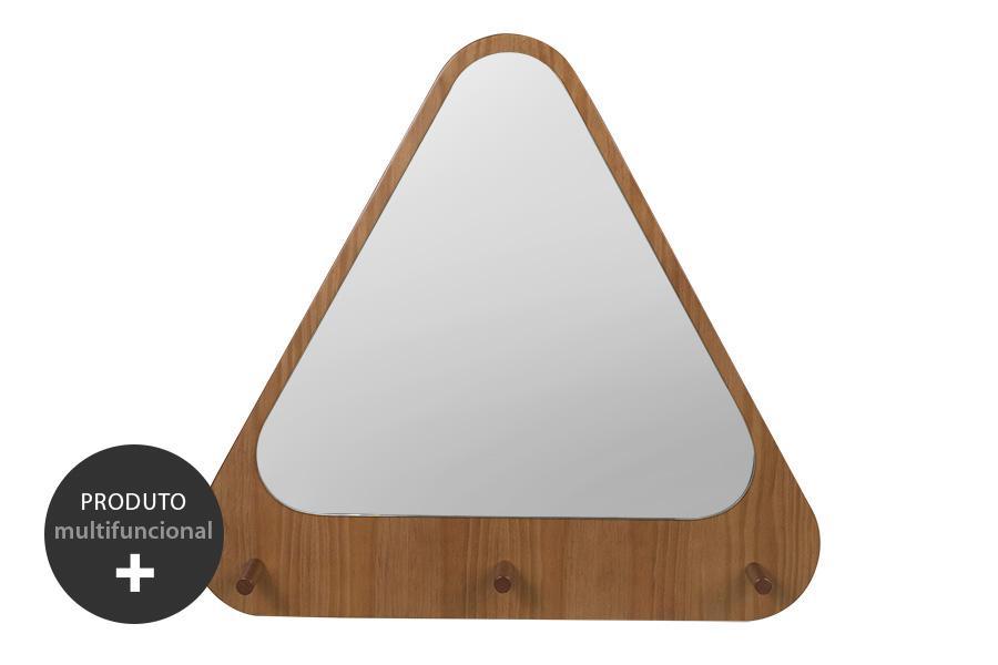 Espelho cabideiro Trigono