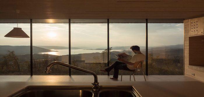 Casa com vista para o lago