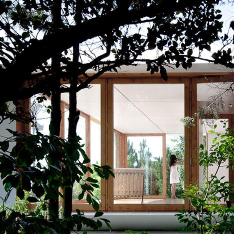 casa mima vista do jardim