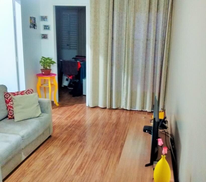 Sala de estar sem layout leitora Gabriela Figueroa