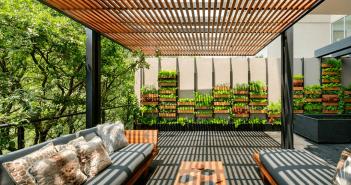 apartamento com jardim