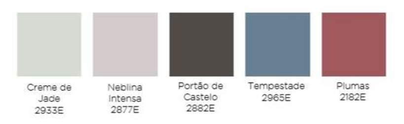cor do ano: paleta de cores para design futuista