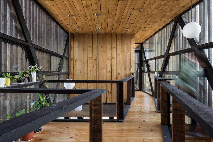 mezanino casa chilena