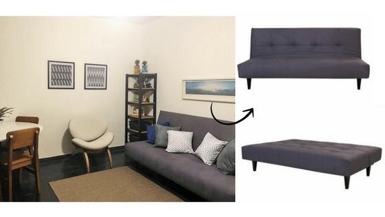 sofá-cama sono da meu móvel de madeira no santa ajuda em post sobre sofá-cama e bicama