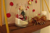 DIY para natal: enfeite no pote de conserva