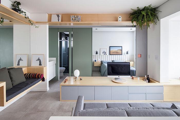 Apê de 38 m²