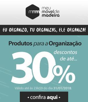 Produtos para organização até 30% off