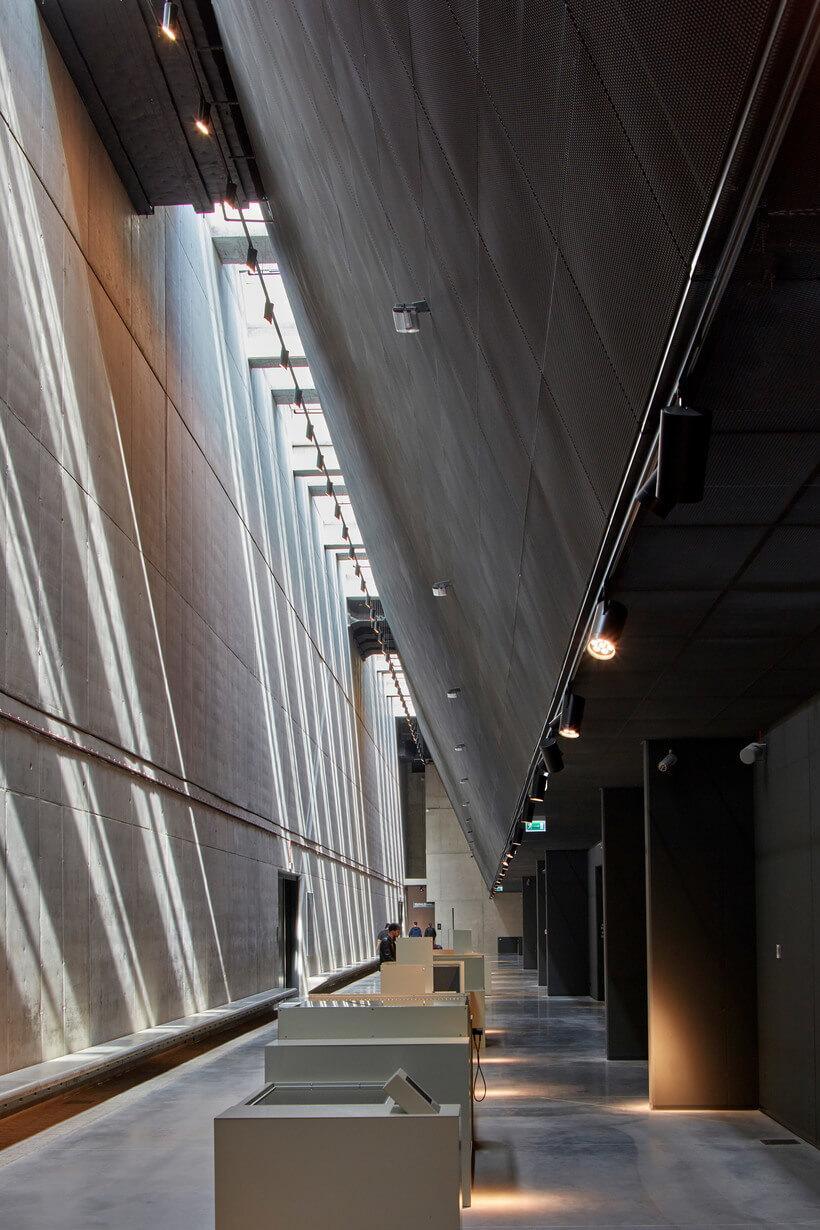 hall de entrada do museu da guerra