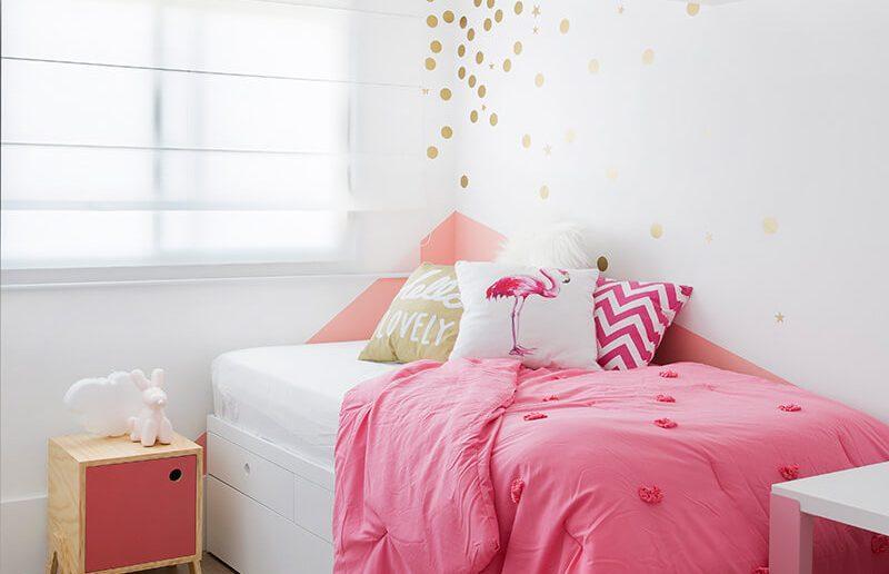 quarto de menina rosa