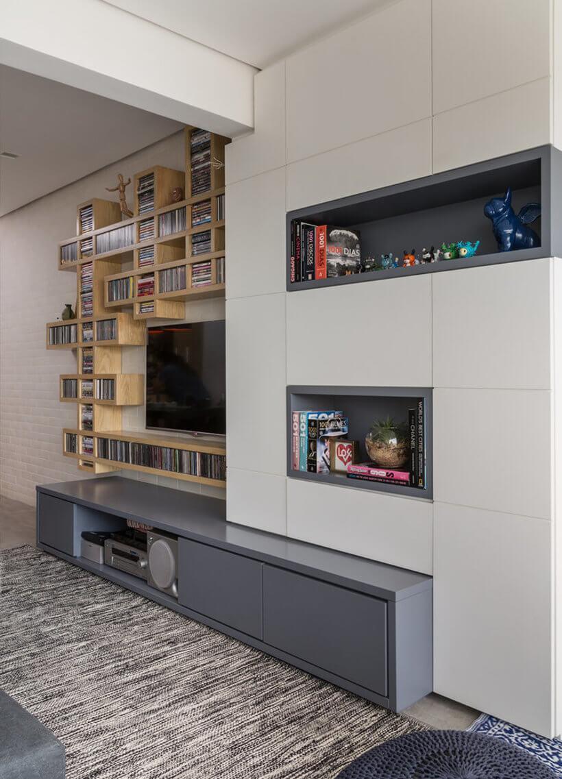 Sala De Tv Pequena Ou Grande Sugest Es Para Mobiliar Seu Espa O -> Sala De Tv Cultura