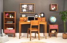 escritorio de madeira