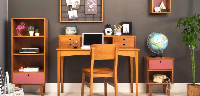 Monte o home office em ambientes pequenos e grandes