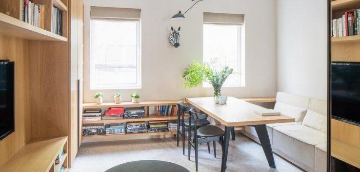 16 formas de ganhar espaço na sala