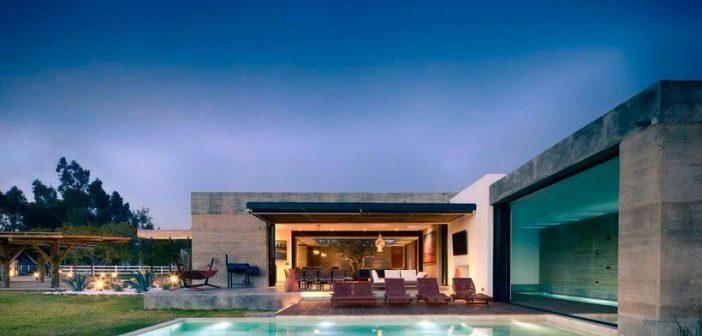 Esta casa é feita de terra