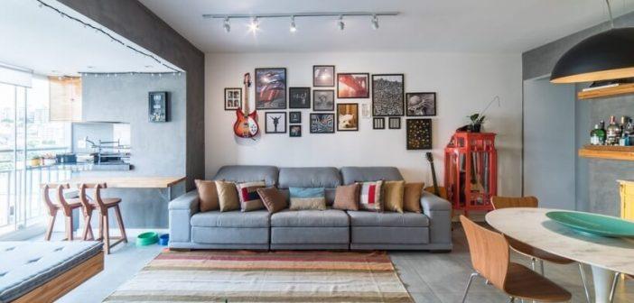 20 ideias de decoração em um apê de 68 m²