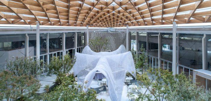 Centro de convenções é construído em 100 dias na China