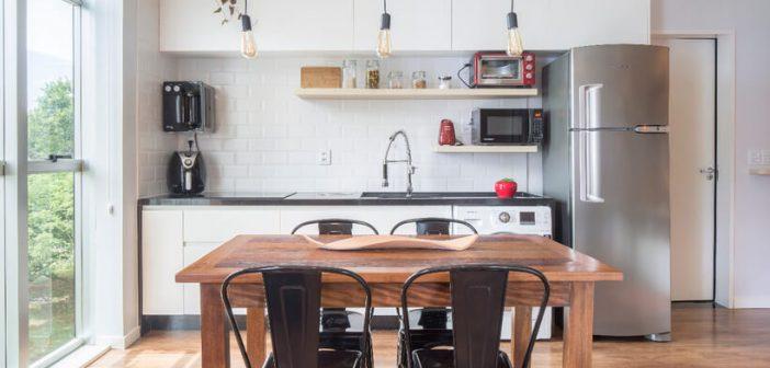 Apê de 35 m² tem tudo para a vida a sós ou a dois