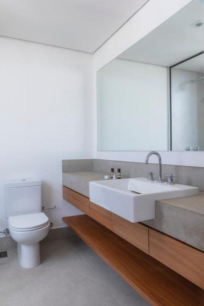 pia do banheiro do apartamento consolacao - avenida paulista