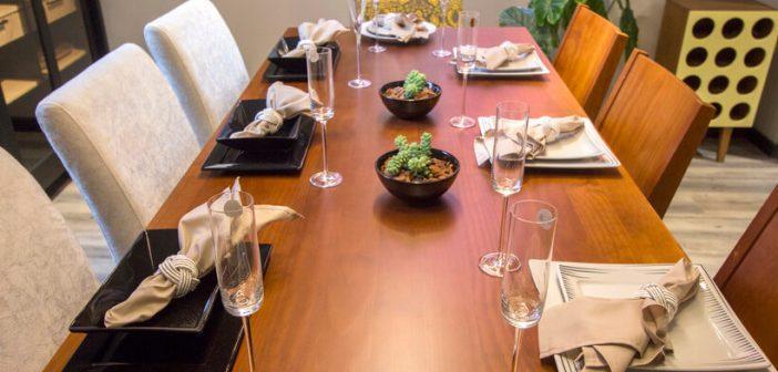 Como escolher a mesa de jantar?