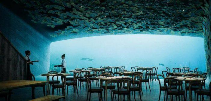 Hoje o jantar é no fundo do mar