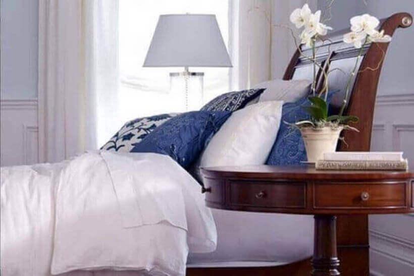 Orquídeas brancas no quarto via ViVa Decora