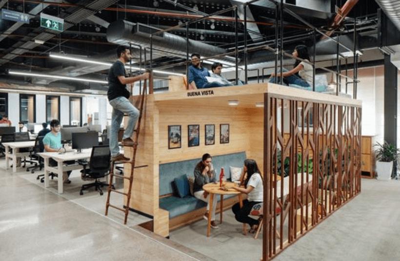 Millennials em co-working