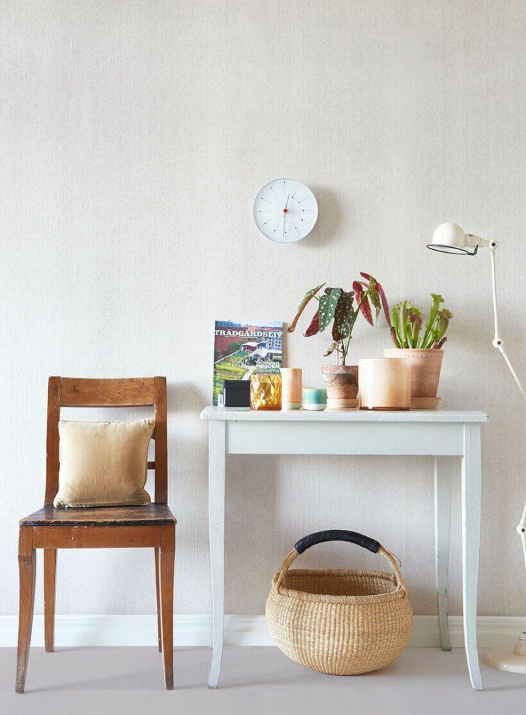 Papel de parede natural e compostável