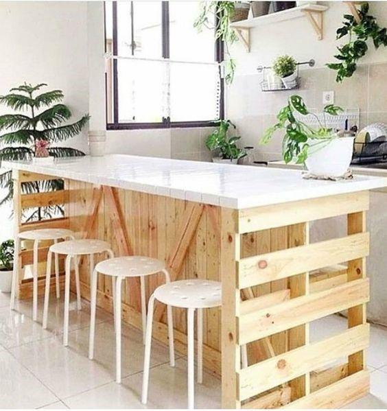 Decoração com madeira