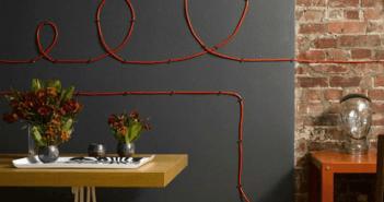 Como esconder os fios
