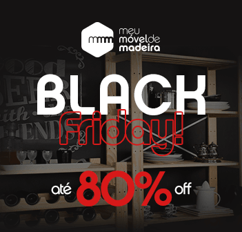 Black Friday com até 80% Off