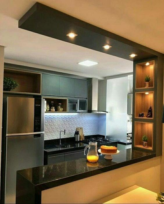 cozinha dos sonhos pequena