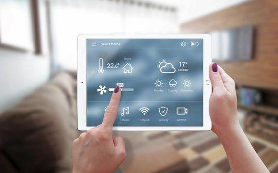 Casas inteligentes automatizadas e funcionais
