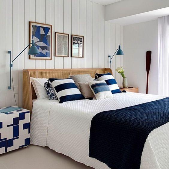 O estilo é justamente trazer para a casa a temática marítima