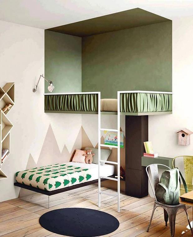 decoração para quarto com beliche.