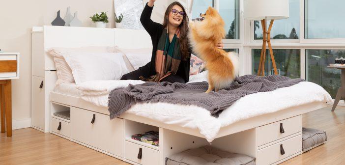 Quartos que inspiram: monte o seu aqui! +20 ideias diferentes de decoração de quarto pra você!