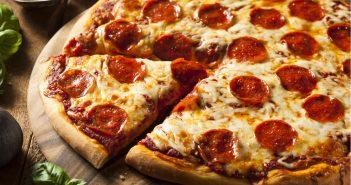 Pizza, inverno.